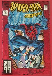 Spider-Man 2099 #1 - Comic Book - Signed By Peter David - Marvel Comics