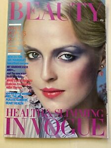 VOGUE Magazine 1976 Autumn/Winter Beauty in Vogue FREE giftwrap FAST ship