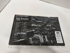 """TekMat Cleaning Mat for use with Sig Sauer P226 , Black, 11""""x17"""""""
