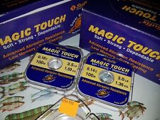 CLEARANCE TWO SPOOLS SUFIX MAGIC TOUCH LINE 3lb & 3.5lb Coarse Match  Robust 2