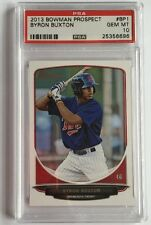 2013 BOWMAN BYRON BUXTON TWINS ROOKIE RC PSA 10 GEM MINT