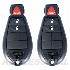 Lot 2P New Uncut Replacement Key Fob Keyless Remote Transmitter For Fobik 3but