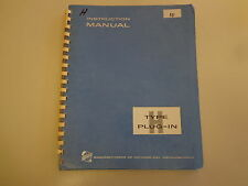 Tektronix Type H Plug-In Unit Calibrated Preamp Instruction Manual Vintage