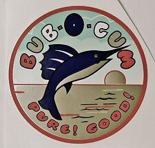 VENDEX, BUB-O-GUM. VENDING, COIN OP, WATER SLIDE DECAL # DV 1045