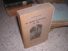 1916.du champ de bataille au ciel / Coubé.guerre 14-18