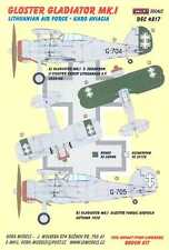 KORA Decals 1/48 Lithuanian GLOSTER GLADIATOR Mk-I Fighter