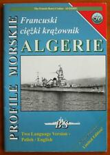 The French Heavy Cruiser ALGERIE - Profile Morskie - English!