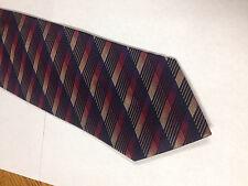 Mens Black Red Purple SILK Tie Necktie ROBERT VILLINI~ FREE US SHIP (11001)