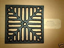"""8"""" SQUARE Cast Iron Gully Grid Driveway Drain Cover"""