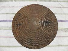 1880s Brown Brothers Mfg. Co. manhole man hole coal hole coalhole cover antique