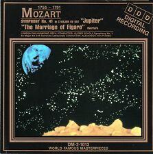 Mozart: Symphony No.41 Jupiter; Overture The Marriage of Figaro; Sym. No.1 (CD)