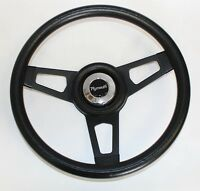 1967 RR Barracuda Fury GTX Grant Black Steering Wheel with black spokes 13 3/4 ""
