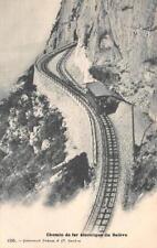 CHEMIN DE FER ELECTRIQUE DU SALEVE SWITZERLAND TRAIN POSTCARD (c. 1900)