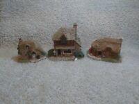Lot Of 3 Lilliput Lane Village Homes & Shops.