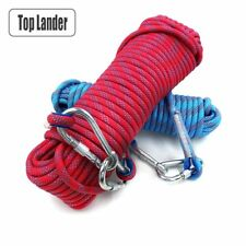 Rock Climbing Rope Tree Wall Gear Outdoor Survival Fire Escape Safety Carabiner