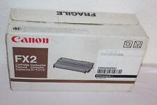 ORIGINAL  CANON FX2 Toner Laser - Fax 500 Laserclass 5000  Noir 4000 p