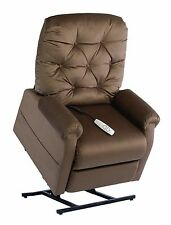Easy Comfort NM-200 Classica power lift chair & 3-position recliner. chocolate