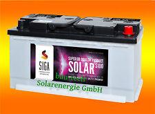 120Ah AGM Solarbatterie AKKU für Photovoltaik, Insel oder Solar Anlagen