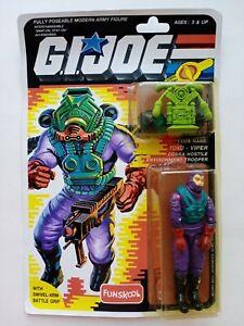 G. I. JOE Toxo Viper MOC FUNSKOOL International Heroes Hasbro Action Figure