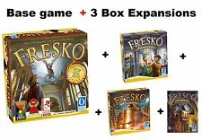 Lot of Fresco + 3 Additional Box Expansions - Board Game - New - FREE Shipping