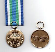 UNITED NATIONS MEDAL FOR SIERRA LEONE ( UNOMSIL )