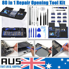 80pc Repair Screwdriver Opening Tool Set Kit for Phone Tablet PC MacBook Pro Air