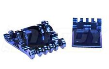 Integy T6661BLUE Billet Machined Skid Plate Set for HPI 1/10 Blitz
