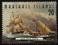 USS Nueva York (1800) fragata Us Navy buque de guerra Sello (1997)