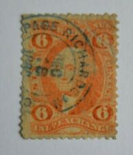 Stamp U S A 1863? Internal Revenue INLAND EXCHANGE Sc#R30c? PAGE RICHARDSON & CO