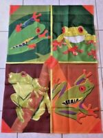 Tree Frogs Decorative House Flag