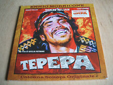 ennio morricone   tepepa   2016 italian  Reissue coloured Vinyl Lp Mint Sealed