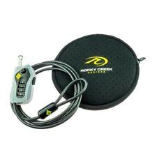 Motorcycle Helmet Gear Lock Cable Lock and Case Rocky Creek GearLok - great kit