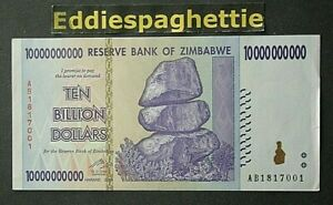 Zimbabwe 10 Billion Dollars 2008 p85 see scan