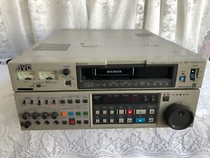 VINTAGE JVC BR-S822U S-VHS EDITING RECORDER/PLAYER UNTESTED