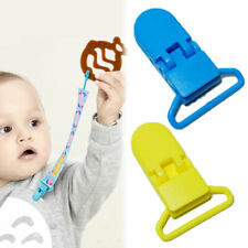 1x Baby Infant Pacifier Soother Nipple Ribbon Leash Strap Chain Clip Holder KK