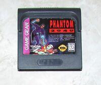 Phantom 2040 for Sega Game Gear Fast Shipping!