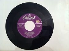 THE CHEERS - BLACK DENIM TROUSERS AND MOTORCYCLE BOOTS - 45 RPM - (ORIG)  VG+++