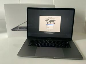 """Apple MacBook Pro Touch Bar 15"""" 2018 2.6GHz 6 Core i7 16GB 512GB 4GB Space Grey"""