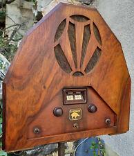 Belle radio de marque Evernice de 1931/1932