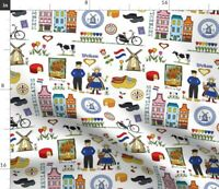 NEW HOLLAND COTTON FABRIC-NEW HOLLAND QUILTING COTTON PILLOW PANEL-10058