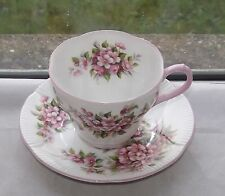 Royal Albert English Fine Bone China Cup & Saucer Apple Blossom