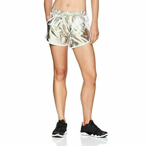 Under Armour UA HeatGear Ladies Fly By Perforated Printed Sports Running Shorts