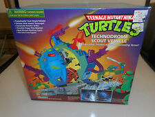 *HTF* TMNT 1998 TECHNODROME SCOUT Vehicle, Playmates NEW MISB