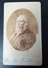 ANCIENNE PHOTOGRAPHIE ROI GUILLAUME PAYS-BAS