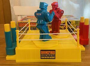 Rock 'em Sock 'em Robots Game 2012 w/ Box & Instructions