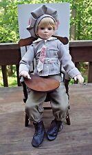 "Jan Hollebrands Jesse Grant Porcelain Doll Children of the White House 1992 18"""
