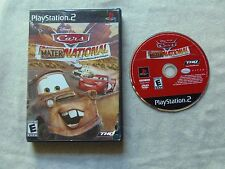 Cars: Mater-National Championship (Sony PlayStation 2, 2007) PS2 Video Game CIB