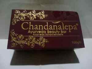 Chandanalepa  Ayurvedic Beauty Soap 100g Herbal Soap  Skin Health FREE SHIPPING