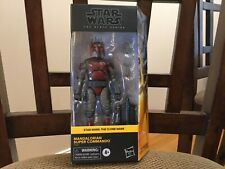 Star Wars Black Series 6? Mandalorian Super Commando WalMart Exclusive. VHTF.