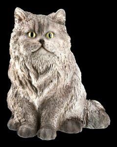 Katzen Figur - Perser - Katze niedliches Kätzchen Deko